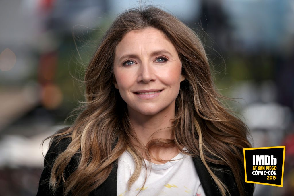 Sarah Chalke attends the #IMDboat at San Diego Comic-Con 2019: Day Three at the IMDb Yacht on July 20, 2019 in San Diego, California.
