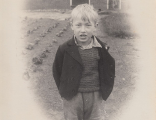 A young Jan Pol in the Netherlands