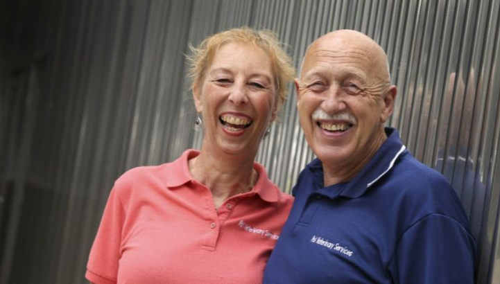 Nat Geo Wild's Dr. Jan Pol and his wife, Diane