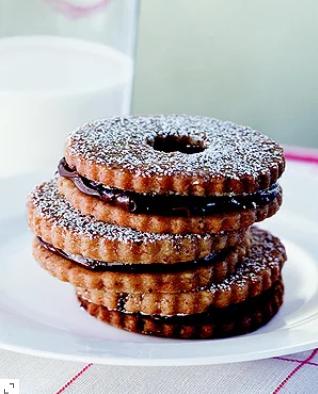 Ina Garten's Chocolate Hazelnut Cookies