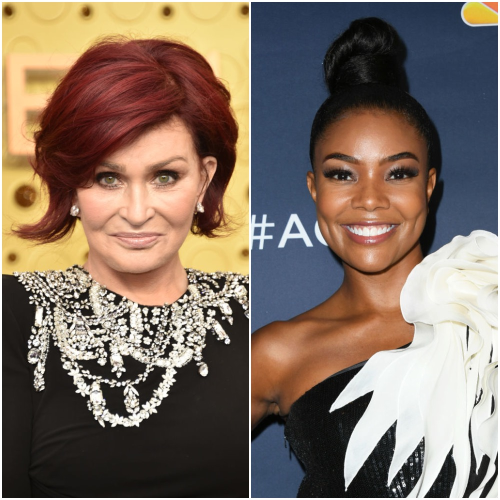 Sharon Osbourne and Gabrielle Union | John Shearer  Getty Images North America Jon Kopaloff  FilmMagic