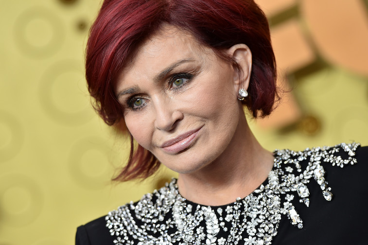 Sharon Osbourne on the red carpet