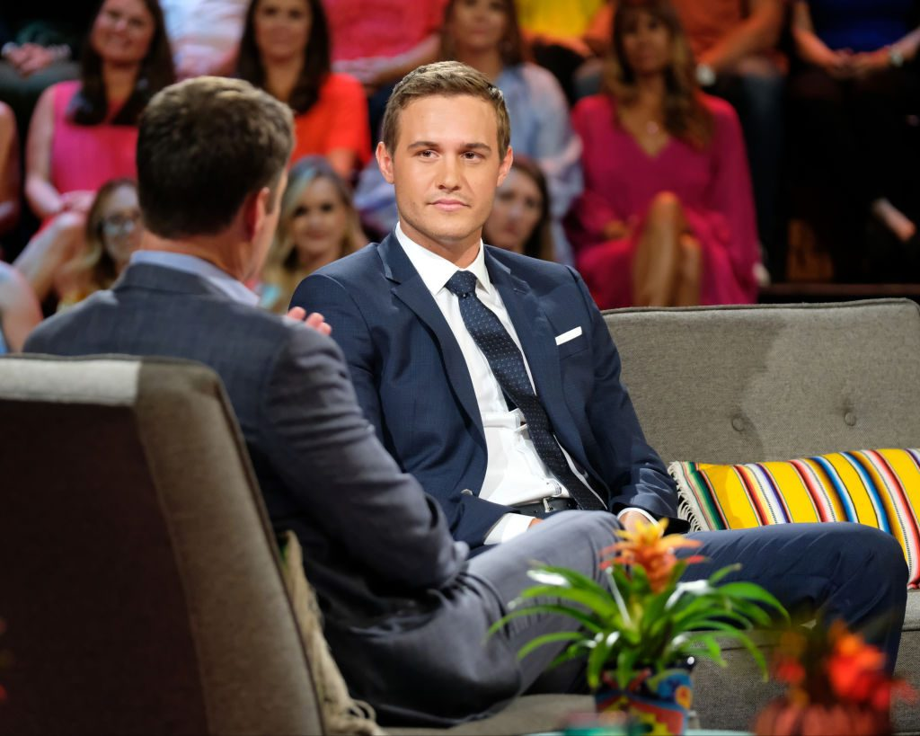Chris Harrison and Peter Weber on 'The Bachelorette'