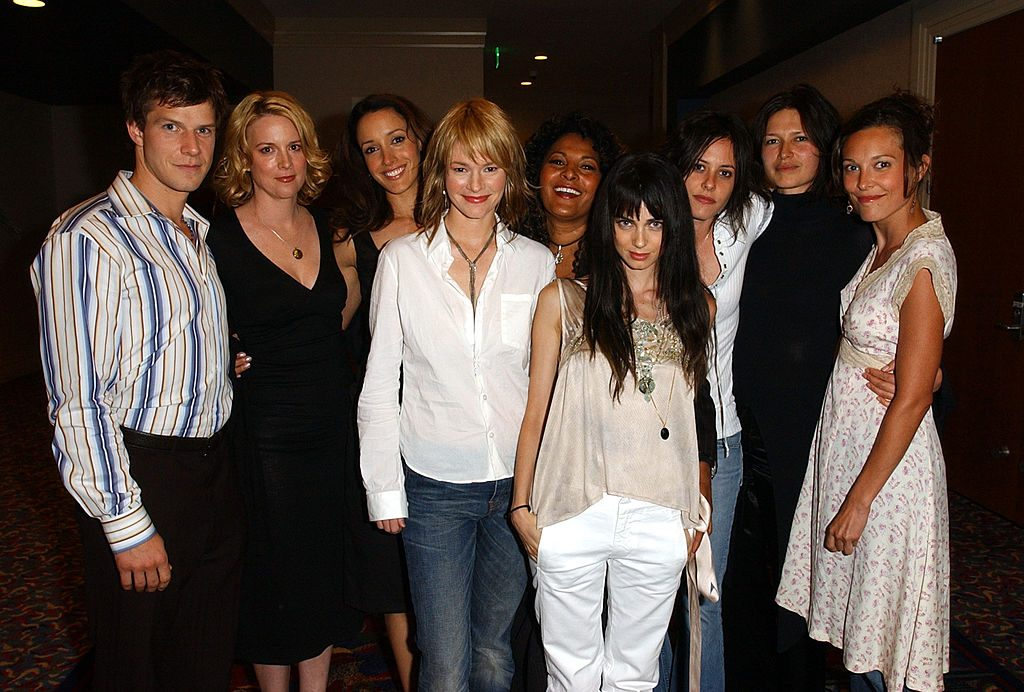 """Cast of """"The L Word"""" at the 2003 Showtime TCA Presentation"""