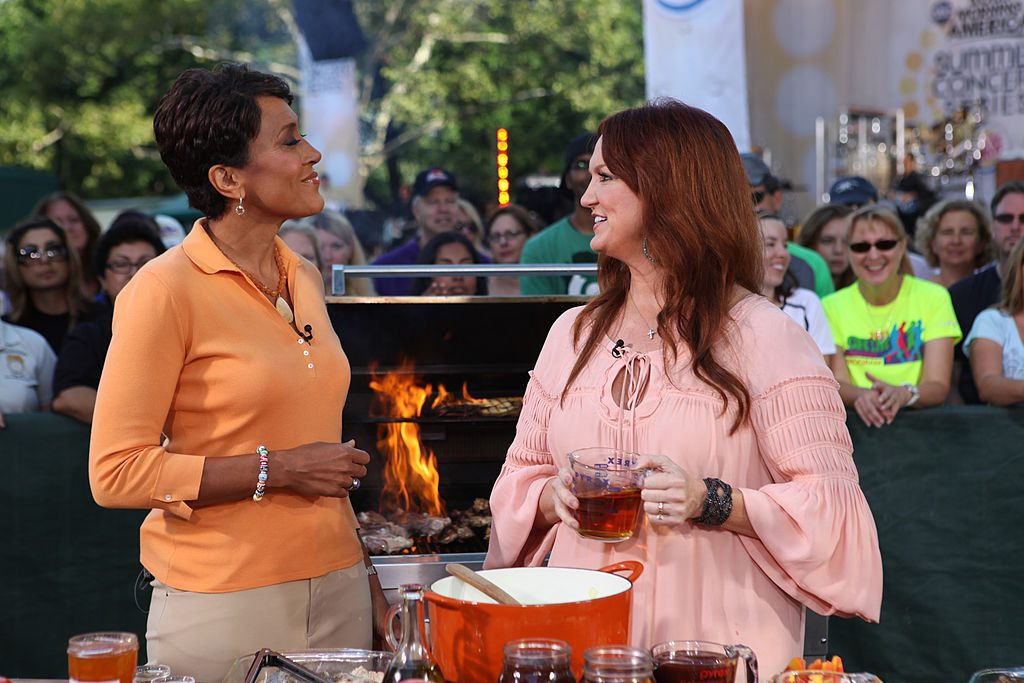 Ree Drummond and Robin Roberts on Good Morning America    Fred Lee/Walt Disney Television via Getty Images
