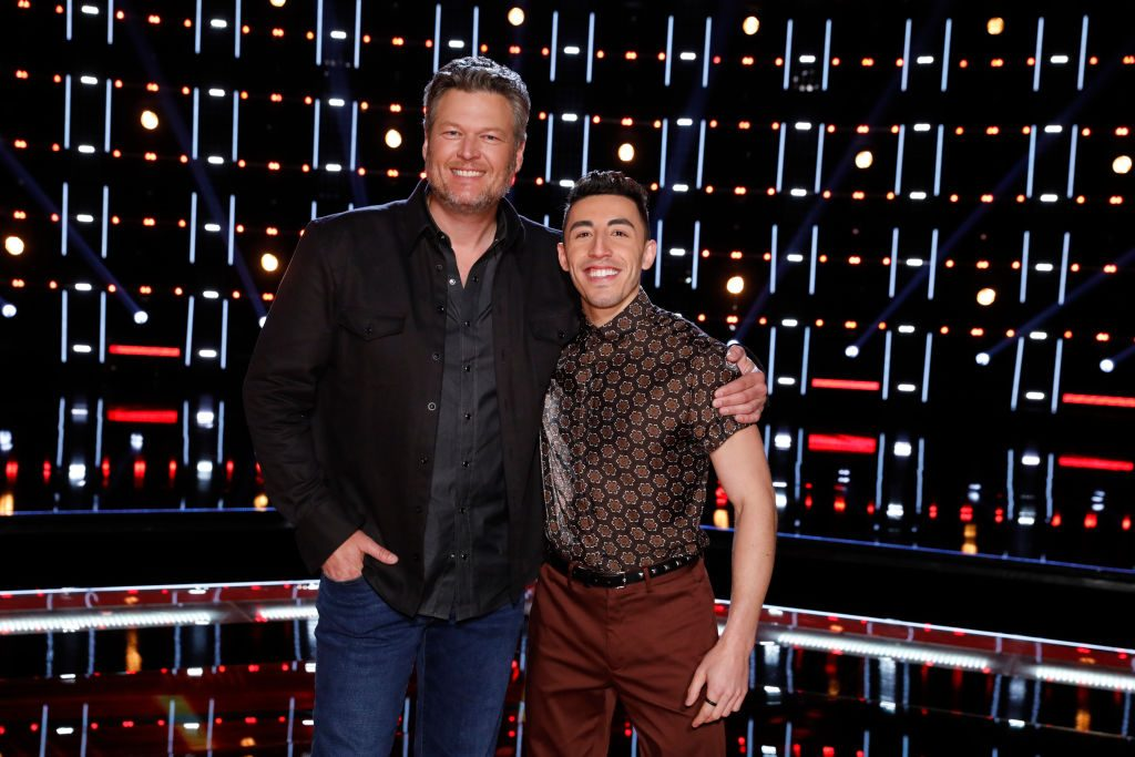 Blake Shelton and Ricky Duran on 'The Voice'