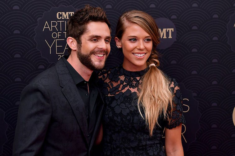 Thomas Rhett and his wife, Laura