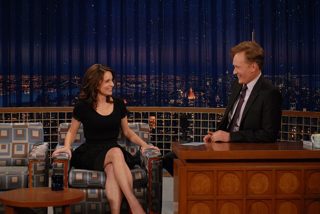 Tina Fey and Conan O'Brien
