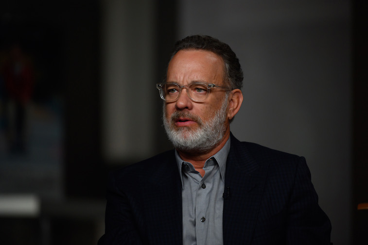 Tom Hanks on the Today show