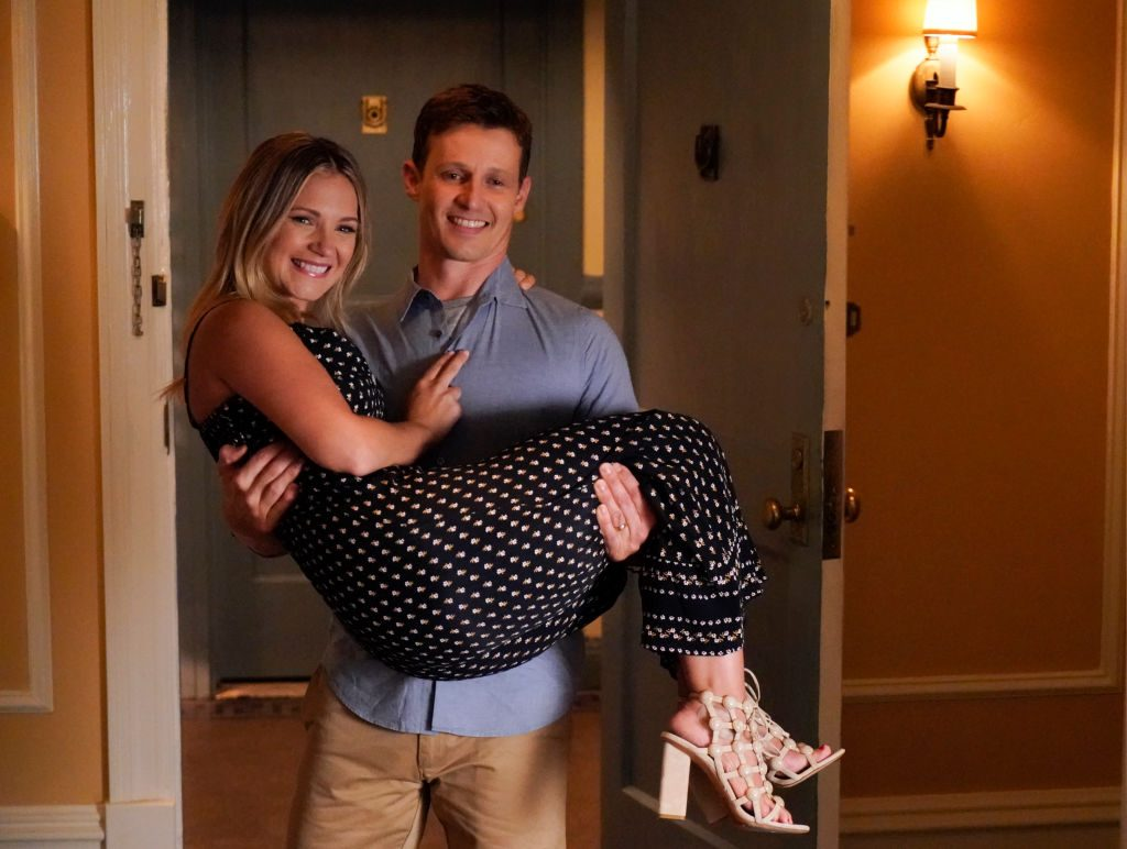 Will Estes as Jamie Reagan and Vanessa Ray as Officer Eddie Janko | John Paul Filo/CBS via Getty Images