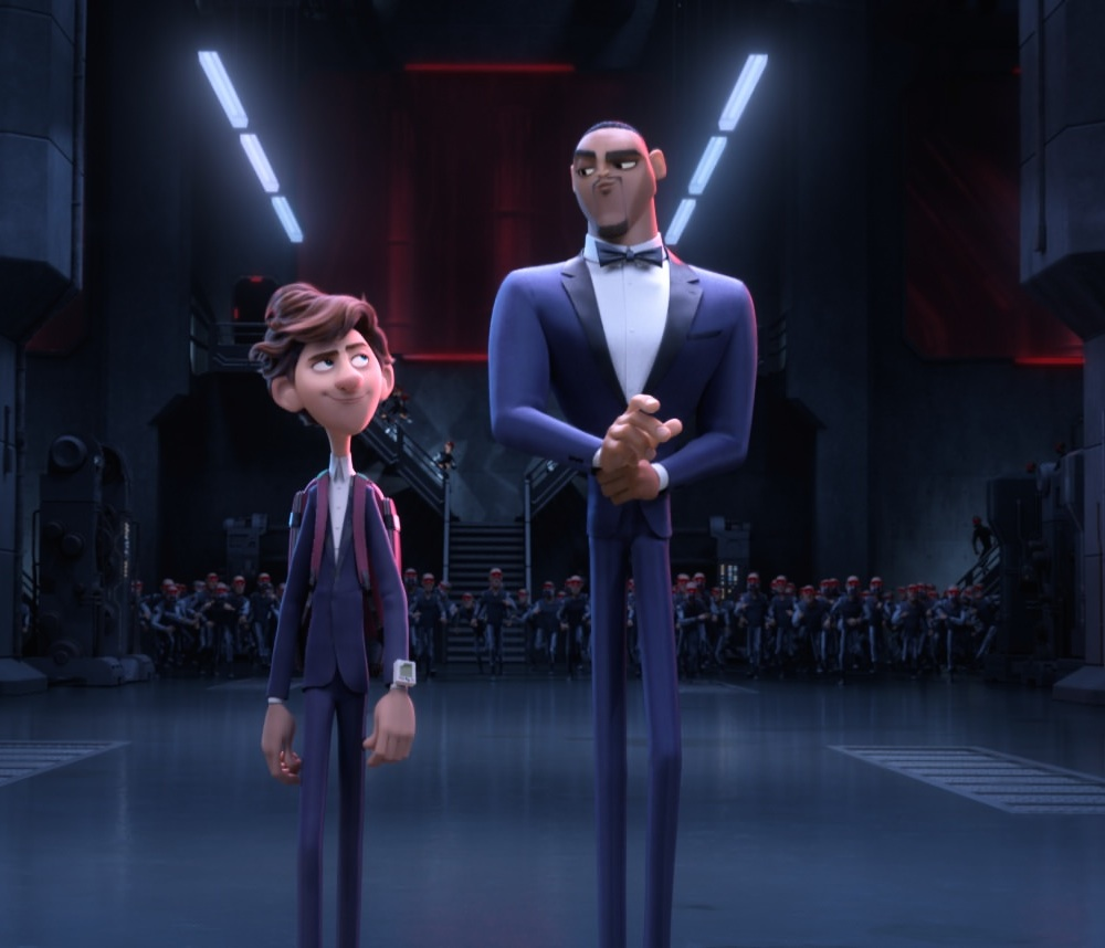 Tom Holland and Will Smith: Spies in Disguise