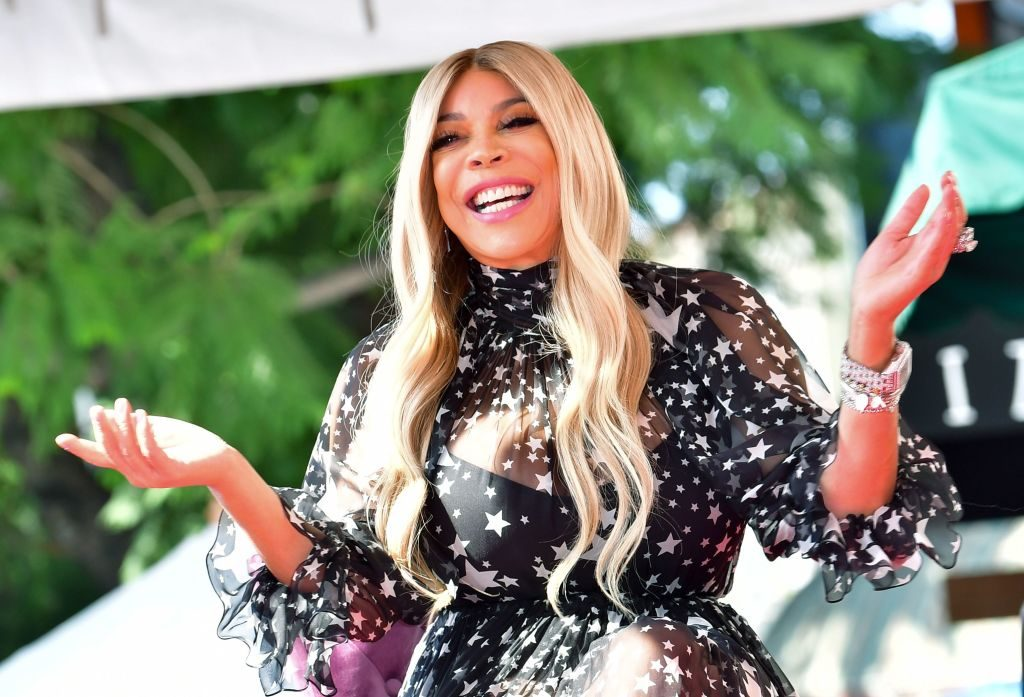 TV talk show host Wendy Williams laughing while at an event