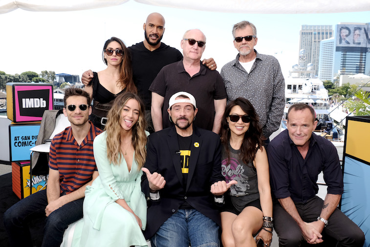 The cast of Marvel's Agents of SHIELD