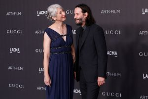 Keanu Reeves' Girlfriend Alexandra Grant Makes Powerful Statement About Why She Embraces Her Gray Hair