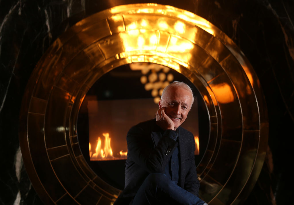 Anthony Daniels, actor behind C-3PO and author of 'I am C-3PO,' poses for a promotional photo.