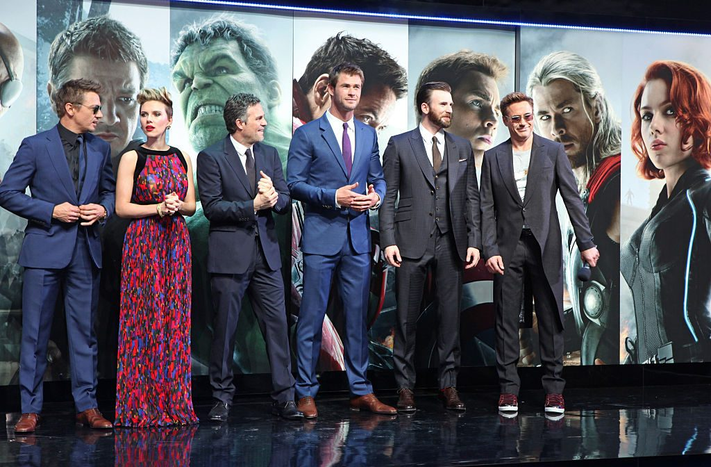 'Avengers: Age of Ultron' cast
