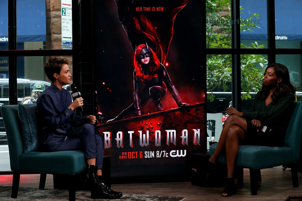 Ruby Rose speaks at the Build Series about 'Batwoman.'