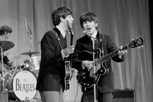 The 1st George Harrison Song to Appear on a Beatles Album