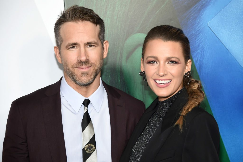 "Ryan Reynolds and Blake Lively attends the New York premier of ""A Simple Favor"" at Museum of Modern Art."