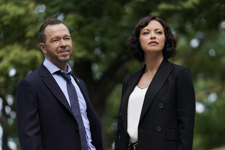 Donnie Wahlberg as Danny Reagan, Marisa Ramirez as Maria Baez