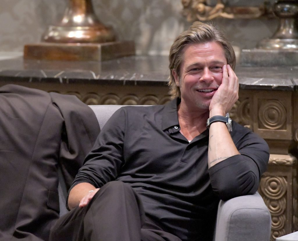 Brad Pitt at an event in 2019