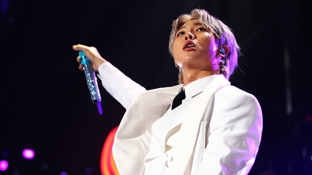 RM of BTS performs onstage during 102.7 KIIS FM's Jingle Ball 2019 Presented by Capital One at the Forum on December 6, 2019 in Los Angeles, California