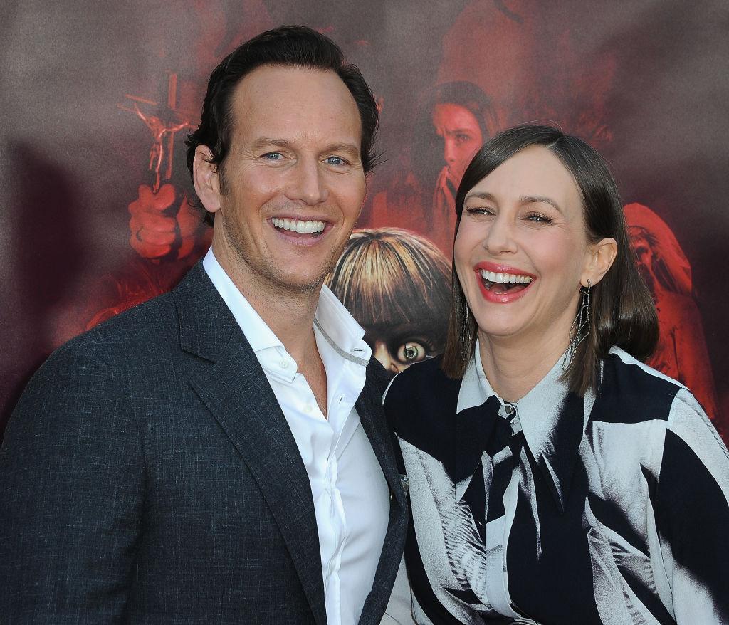Patrick Wilson and Vera Farmiga at the premiere of 'Annabelle Comes Home.'