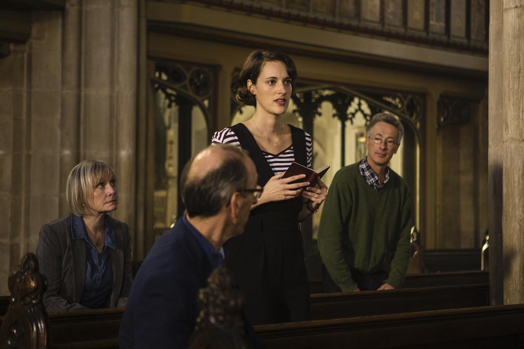 Phoebe Waller-Bridge in scene during Season 2 of 'Fleabag.'