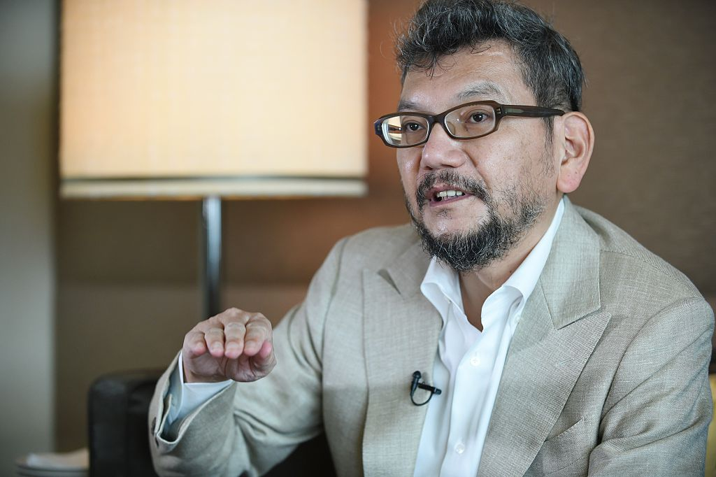 Hideaki Anno, the creator behind Neon Genesis Evangelion and Rebuild of Evangelion