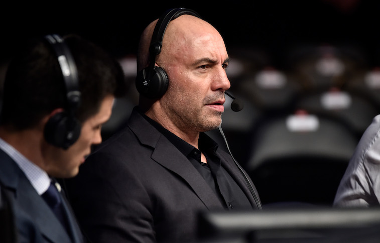 Joe Rogan giving UFC wrestling commentary