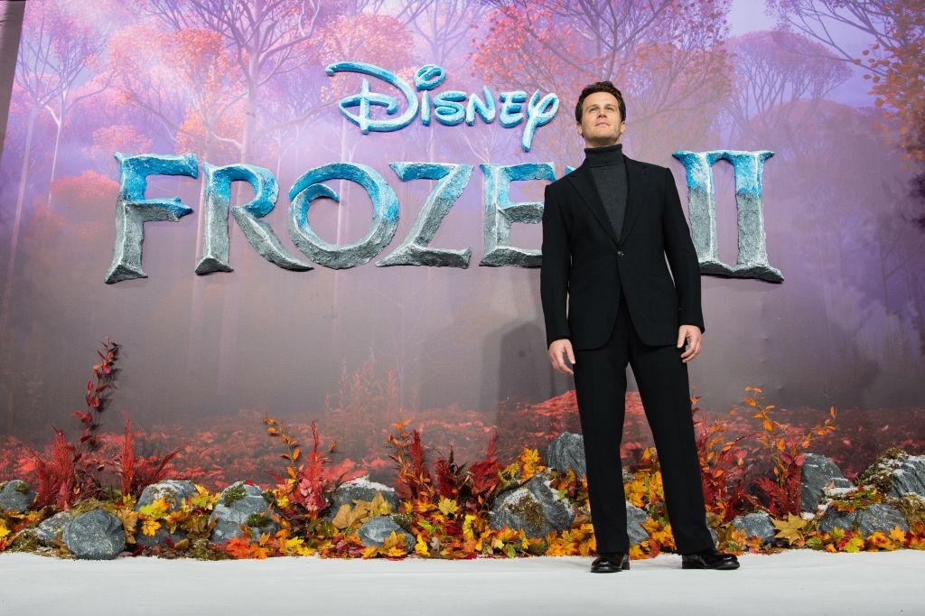Jonathan Groff at the 'Frozen 2' European premiere.