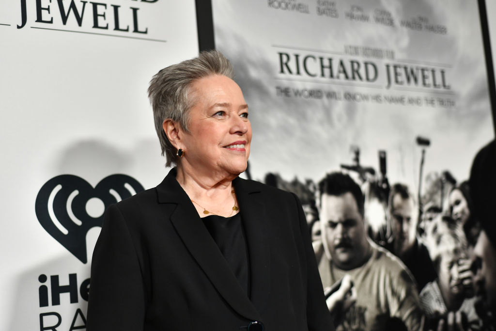 Kathy Bates on the red carpet for the 'Richard Jewell' Atlanta screening.