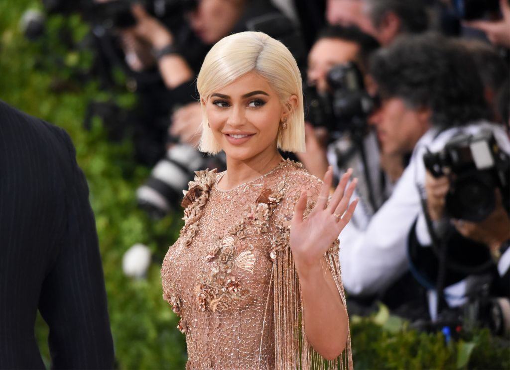 """Kylie Jenner attends the """"Rei Kawakubo/Comme des Garcons: Art Of The In-Between"""" Costume Institute Gala at Metropolitan Museum of Art."""