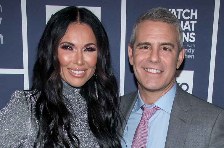 LeeAnne Locken and Andy Cohen