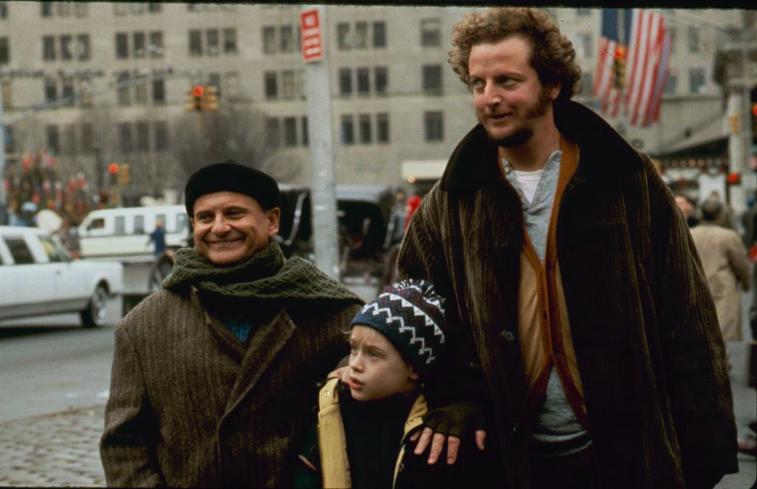 Macaulay Culkin, Joe Pesci, Daniel Stern in 'Home Alone'
