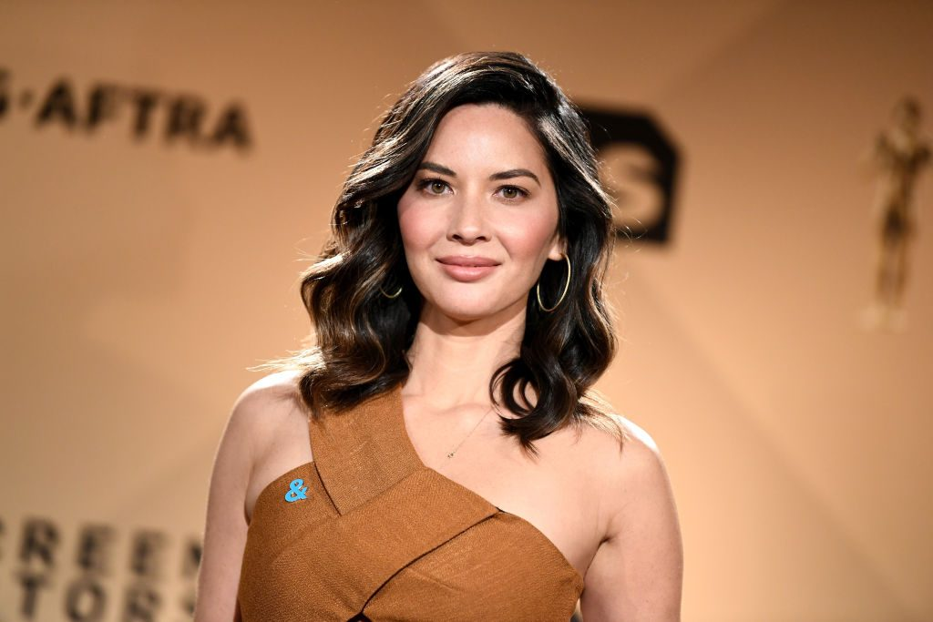 Olivia Munn at the 24th Annual Screen Actors Guild Awards Nominations Announcement.