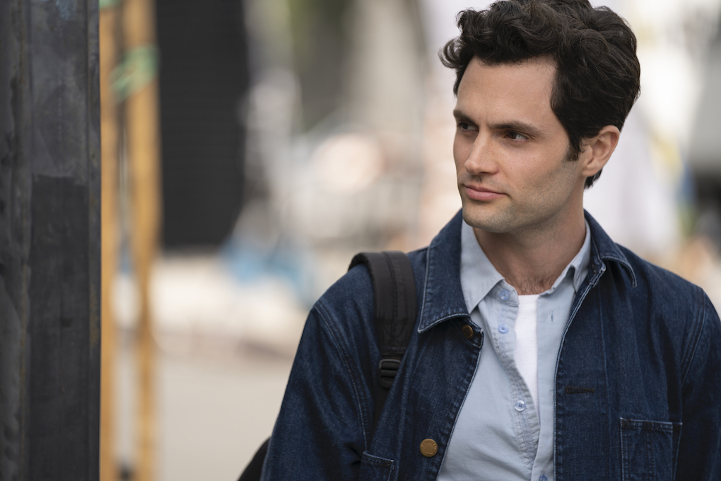 Penn Badgley is Joe on 'YOU' Season 2, and has to move to Los Angeles to escape his ex, Candace.