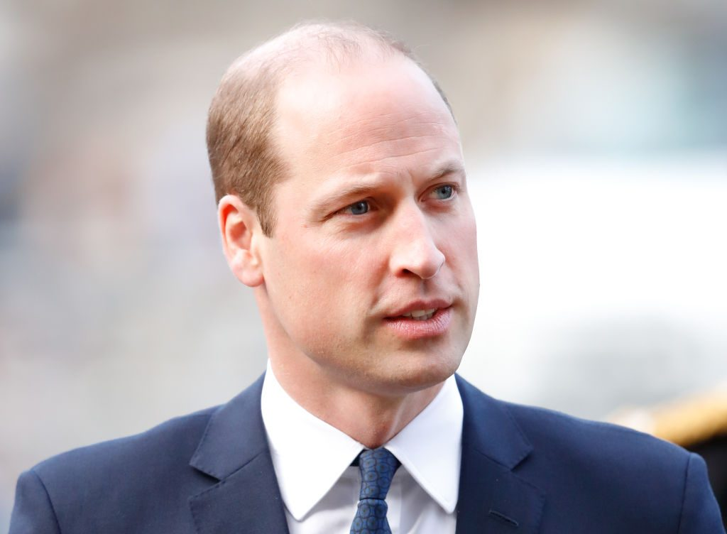 Prince William, Duke of Cambridge, attends a Service of Thanksgiving for the life and work of Sir Donald Gosling at Westminster Abbey.
