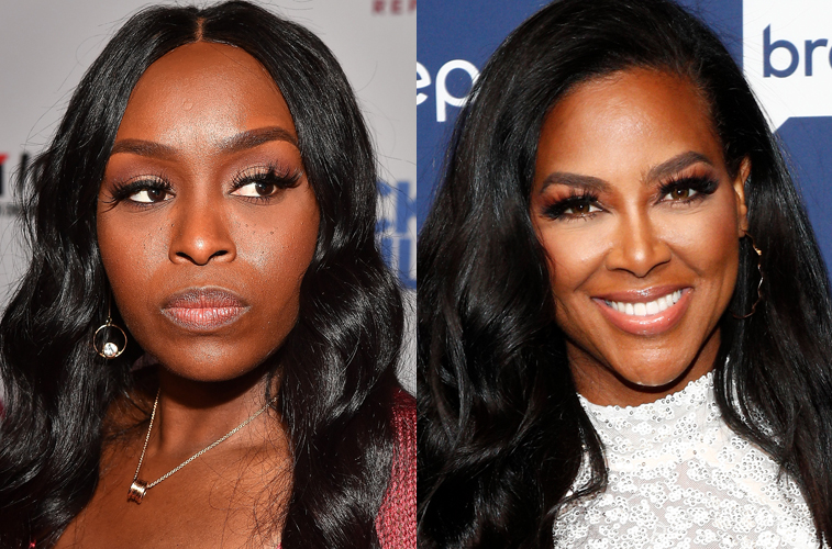 Quad Webb and Kenya Moore