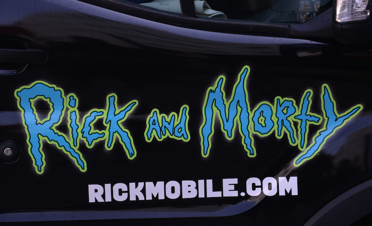 The Rick and Morty pop up shop