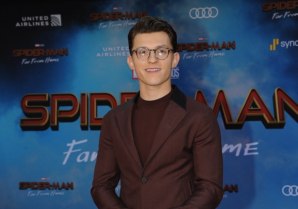 Tom Holland at the 'Spider-Man: Far From Home' premiere