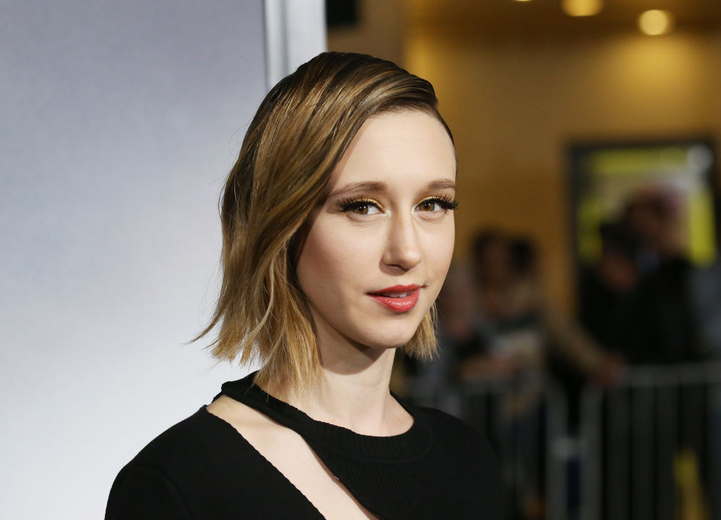 Taissa Farmiga at the Warner Bros. Pictures world premiere of 'The Mule,' in which she played Ginny.