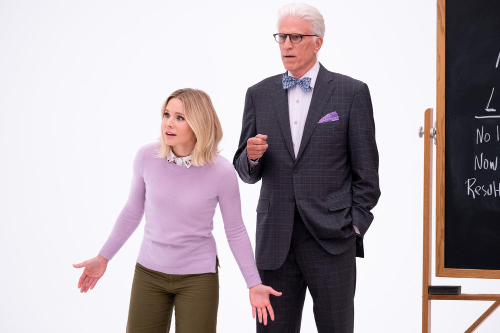 The Good Place Episode 410: Kristen Bell and Ted Danson