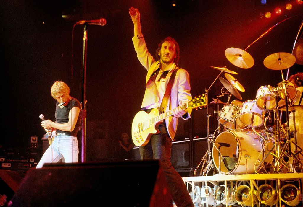 The Who perform at Madison Square Garden in 1979