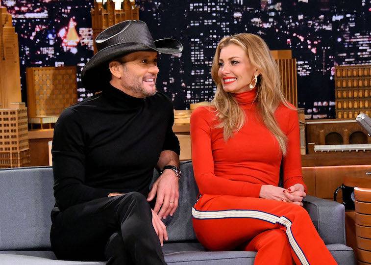 Tim McGraw and Faith Hill on The Tonight Show
