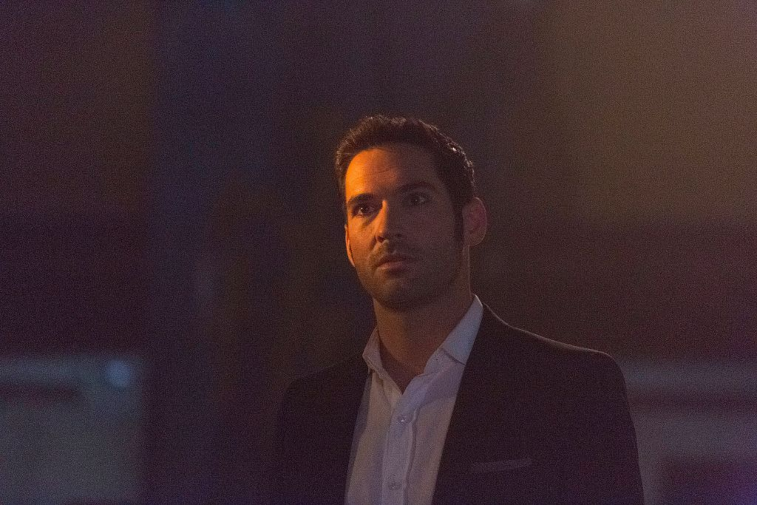 Tom Ellis in 'Lucifer'