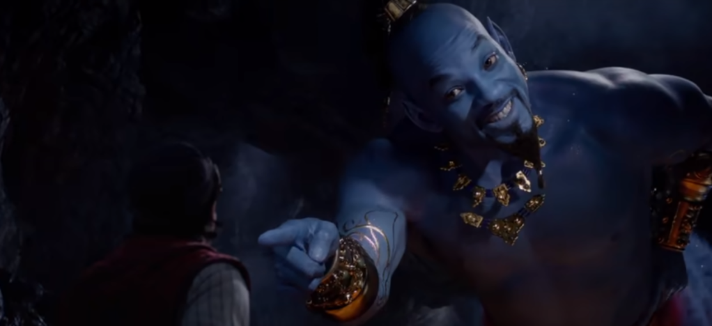 Will Smith in 'Aladdin'