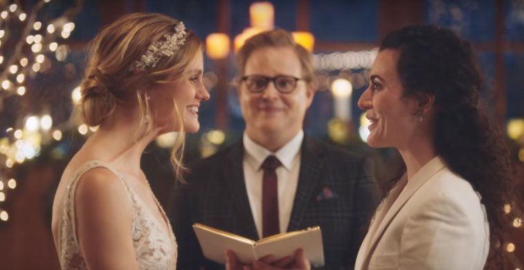 Zola wedding commercial