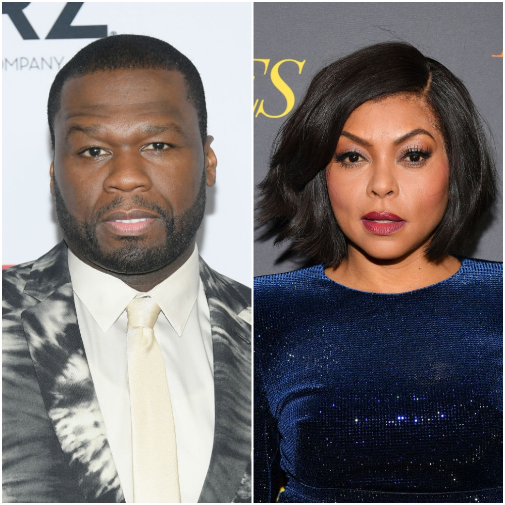 50 Cent and Taraji P. Henson