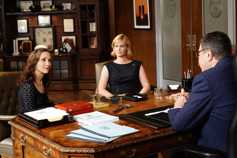 Abigail Hawk in 'Blue Bloods'